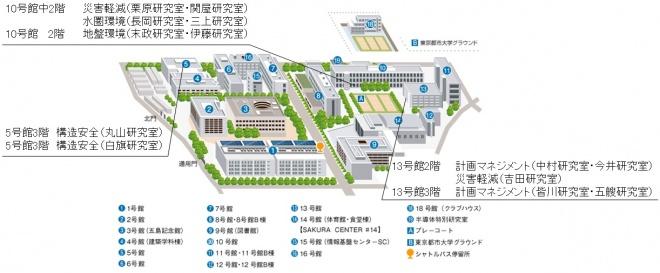 2018研究室アクセスマップ
